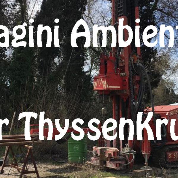 Indagini ambientali per ThyssenKrupp