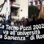 Università La Sapienza e Tecno pozzi 2002