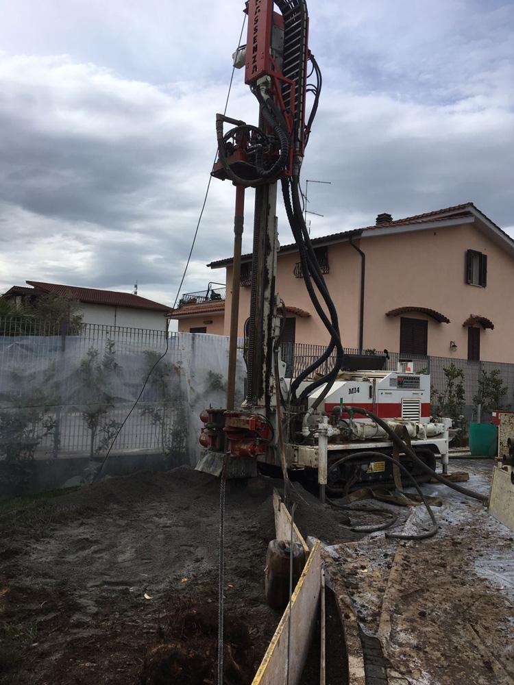 Perforazione Pozzo per acqua Località Zagarolo