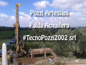 Pozzi Artesiani Falda Artesiana perforazione scavi circolari pozzi acqua tecnopozzi2002 roma
