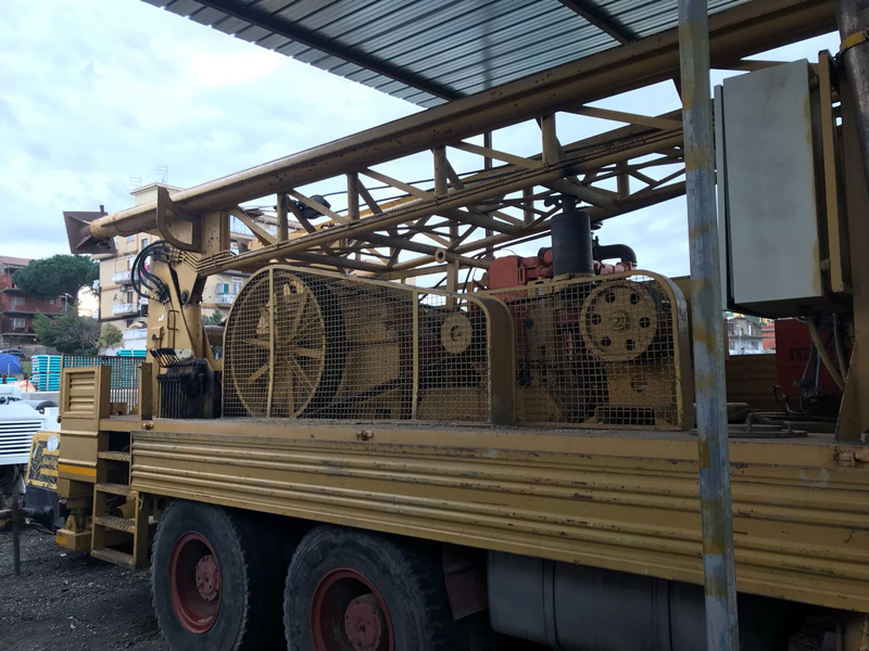 Macchine per Trivellazioni usate Roma Battipalo mencarelli doppio argano in vendita roma