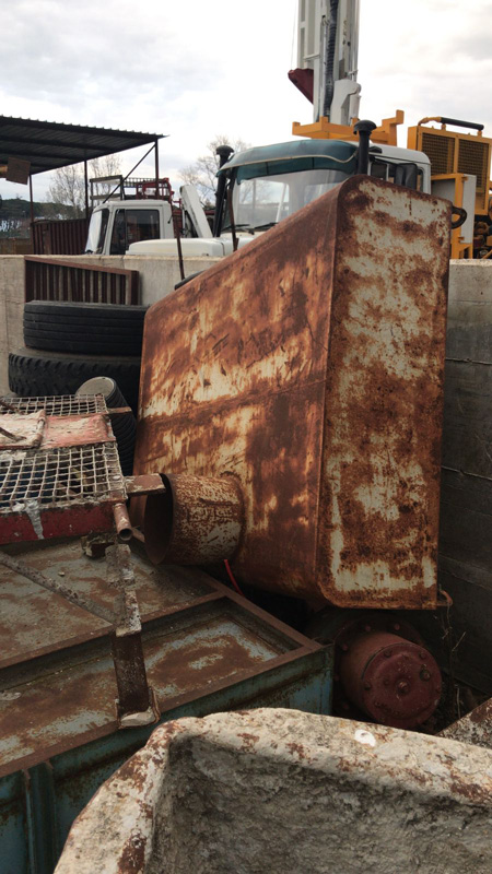 Macchine per Trivellazioni usate Vasca per recupero acqua e fanghi in vendita roma