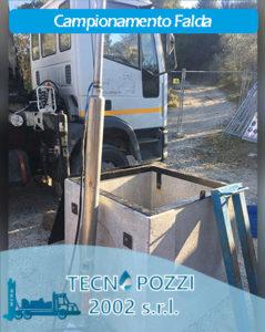 Campionamento Falda Operazioni di monitoraggio tecnopozzi2002 Roma