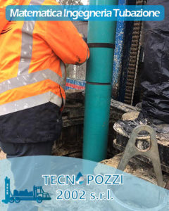 formula matematica tubazione verticale pozzi acqua tecnopozzi2002 roma
